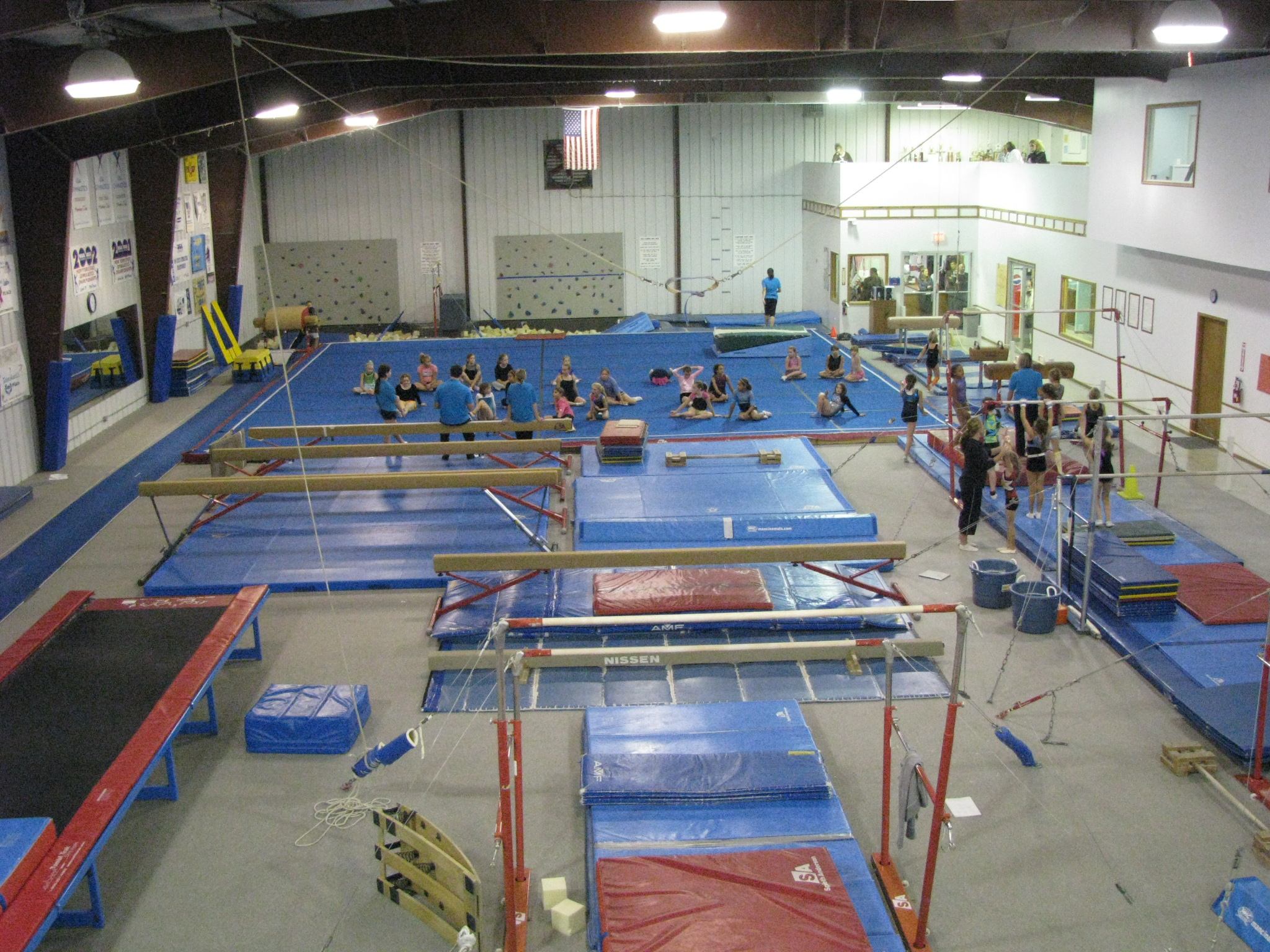 Gymnastics center for Gym design software